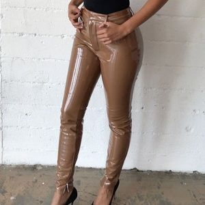 House of cb latex pants